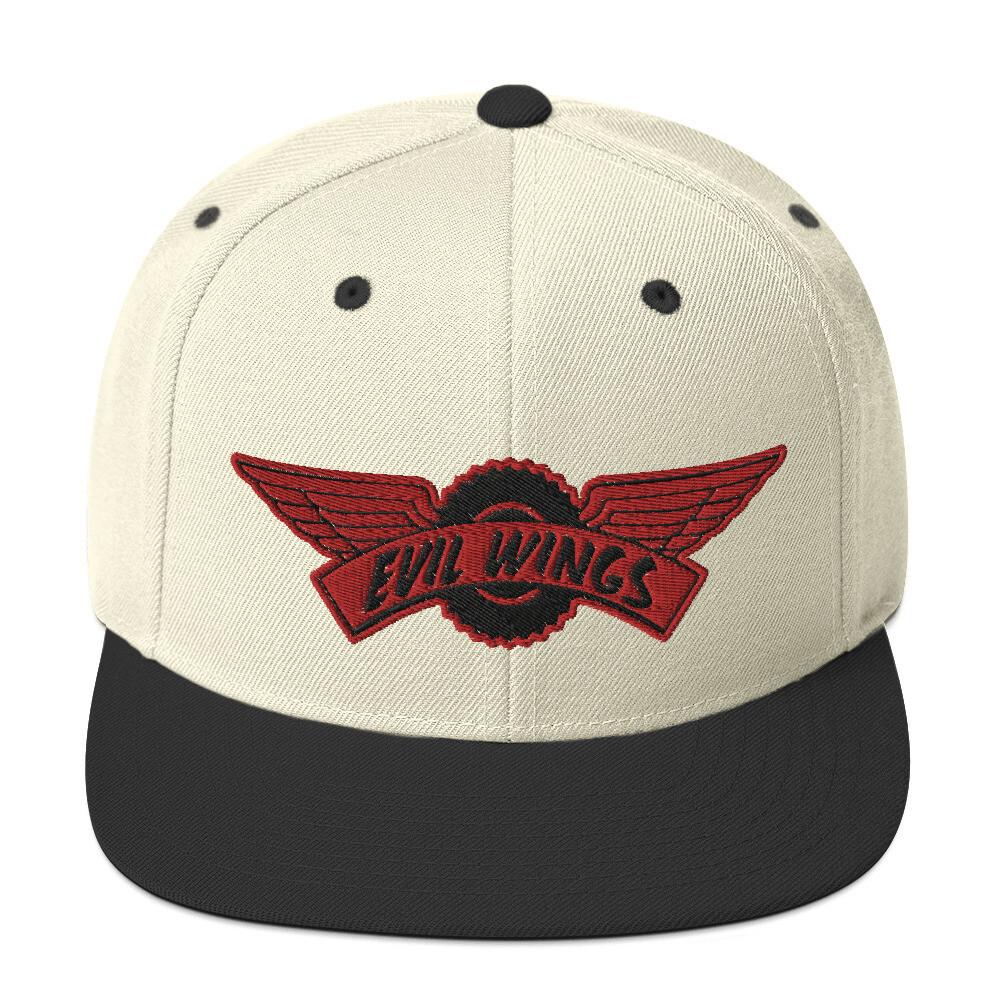 Evil wings Snapback Hat