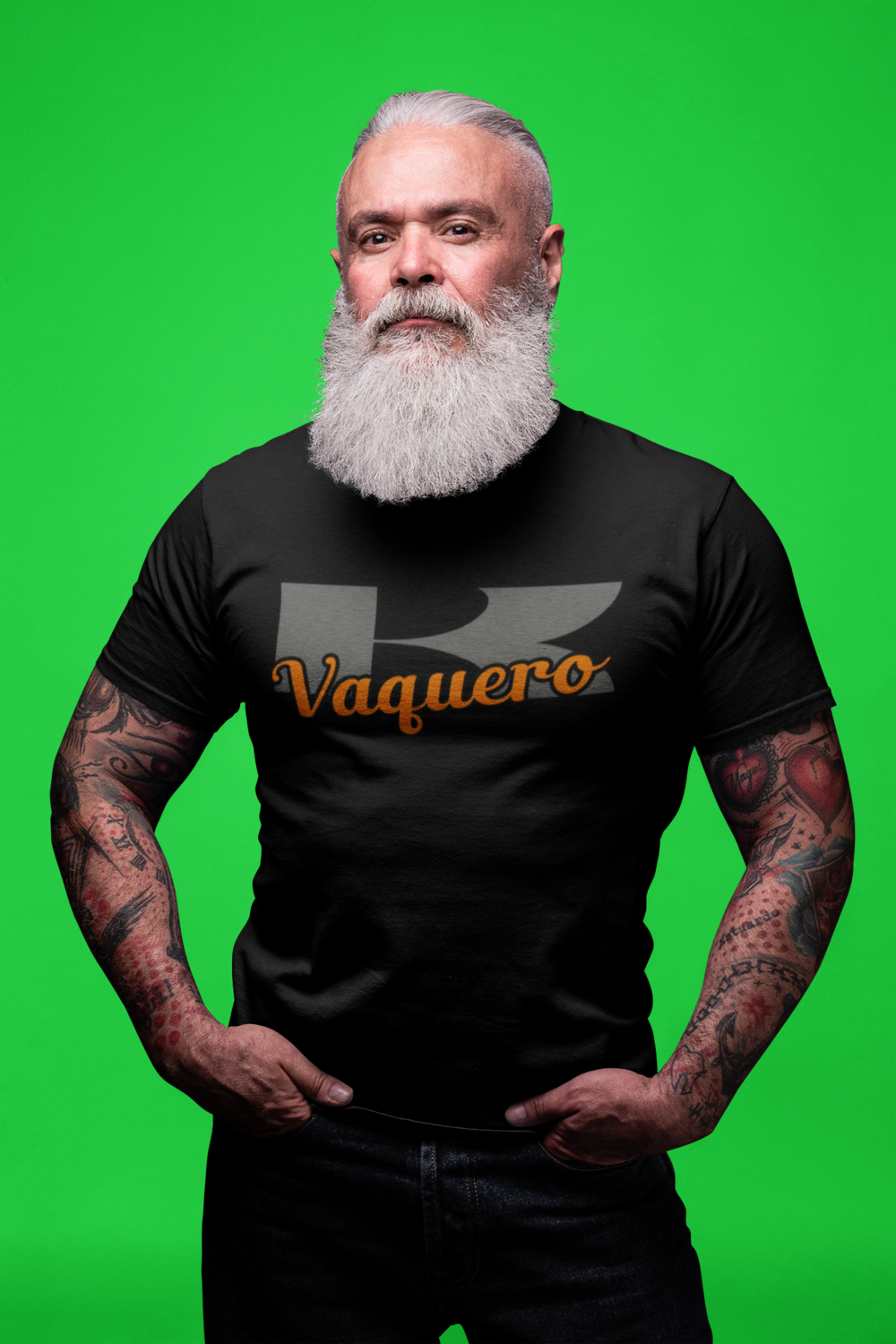 Kawasaki Vaquero T-Shirt (Orange Version)