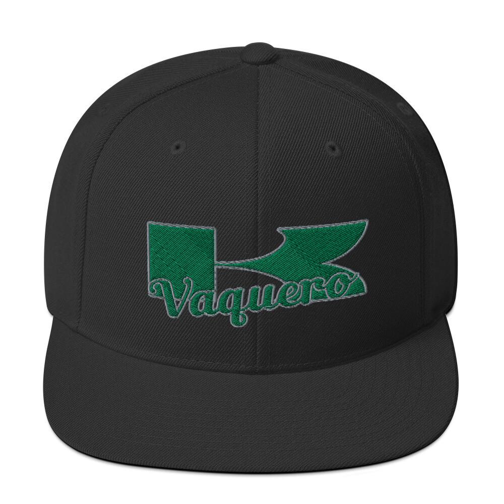 Kawasaki Vaquero Green & Silver Snapback Hat