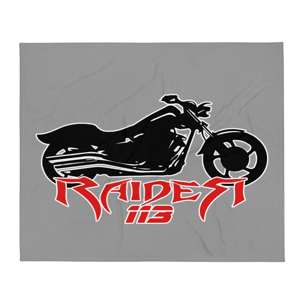 Raider 113 Throw Blanket