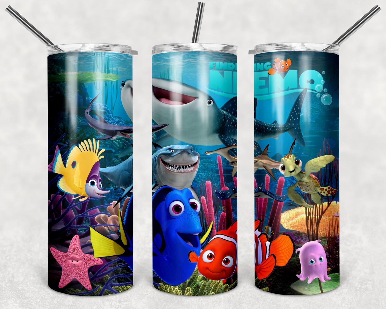 Nemo Crew Tumbler Template