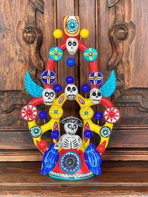 """""""PONCHO"""" Dia de los Muertos"""