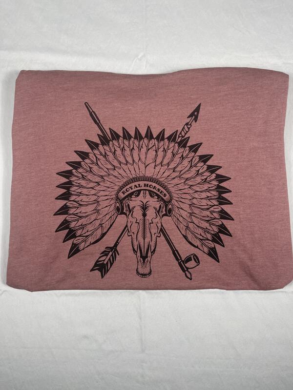 Red Heather Logo Shirt