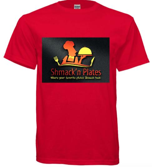 (RED) Shmack'n Plates T-shirt