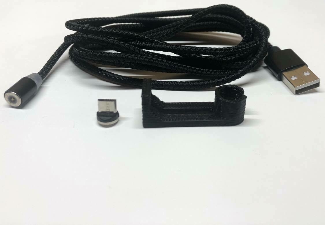 Magnetic add-on, cable and hang-to-charge dock for all Cynaps modules
