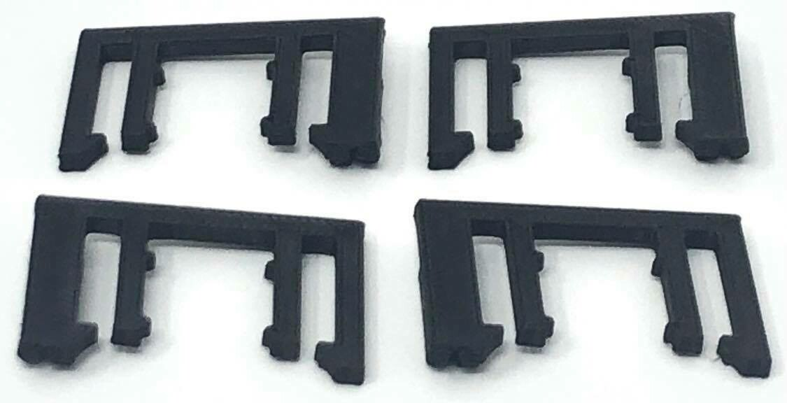 2 Pairs of replacement plastic transducer clips