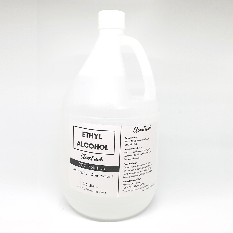 70% Ethyl Alcohol (1 gallon)