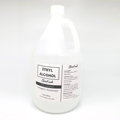 70% Ethyl Alcohol (1 gallon)