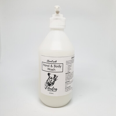 Antimicrobial Hand and Body Wash (500ml)