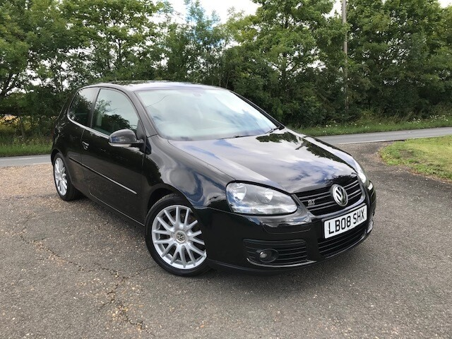 VW Golf 1.4 TSI GT Sport 2008 82k Black