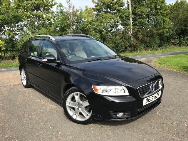 Volvo V50 1.6D Drive SE Black 2012 134K
