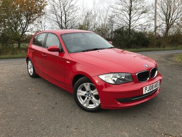 BMW 116i SE 2008 85K Red