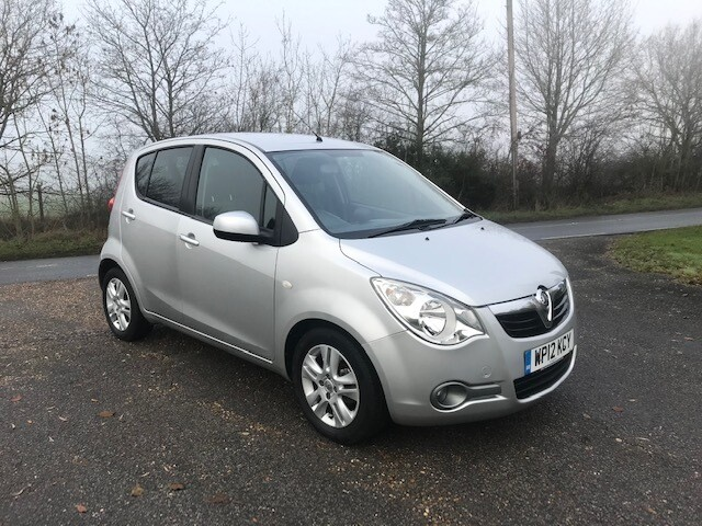 Vauxhall Agila 1.2 SE Automatic 2012 31K Silver