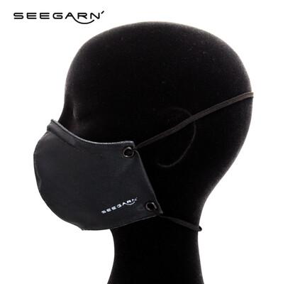 Komfort Mund- und Nasenmaske (black)