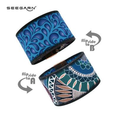 Seegarn Wende-Armband (Design MB17 & MB01)