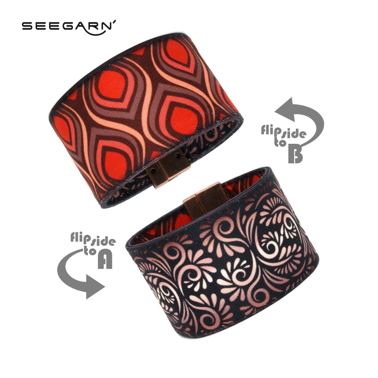 Seegarn Wende-Armband (Design MB33 & MB26)