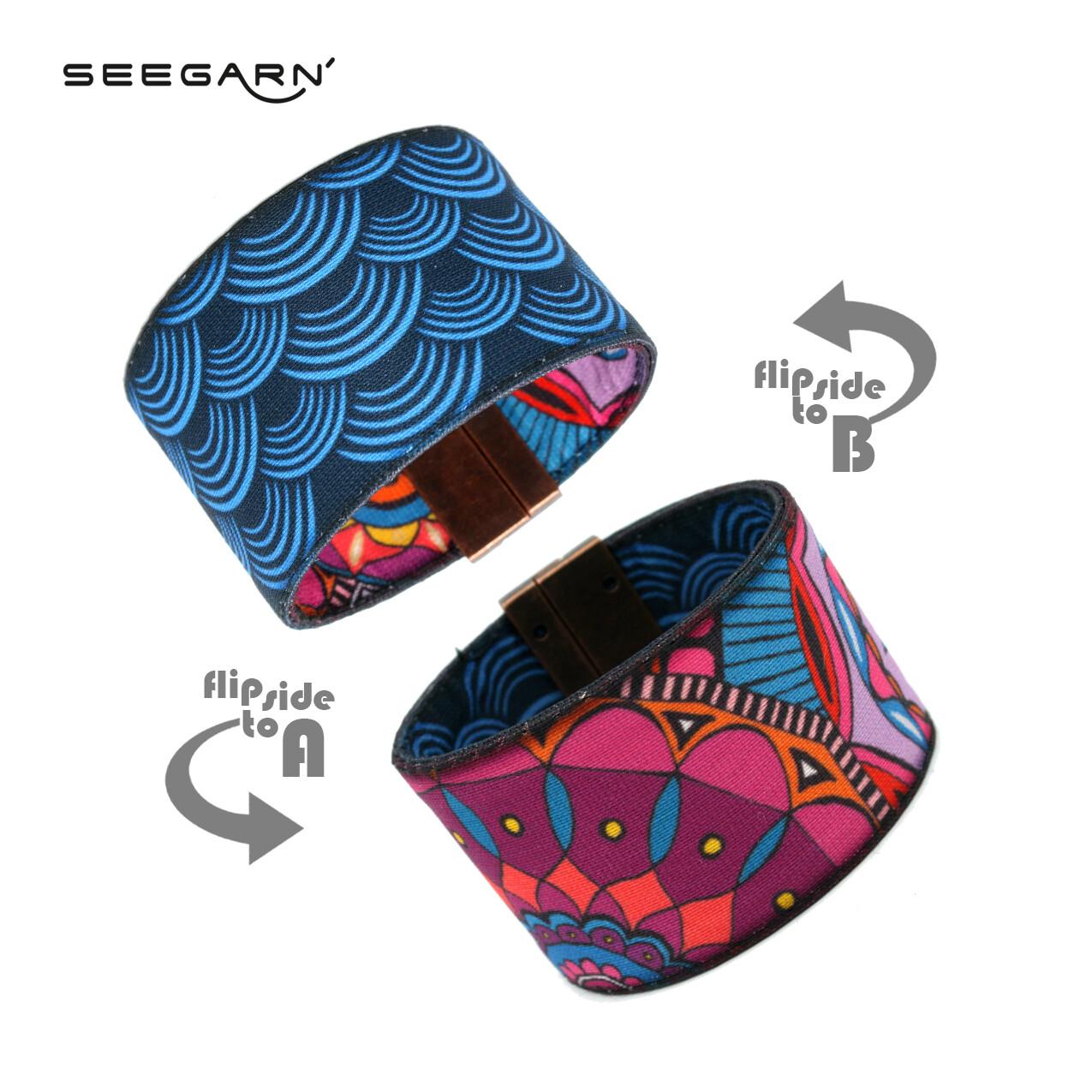 Seegarn Wende-Armband (Design MB32 & MB02)