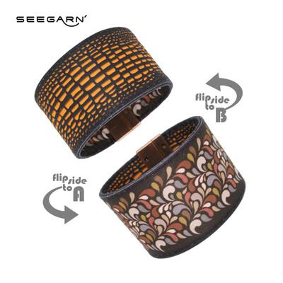 Seegarn Wende-Armband (Design MB04 & MB19)
