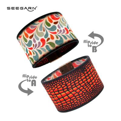 Seegarn Wende-Armband (Design MB18 & MB05)