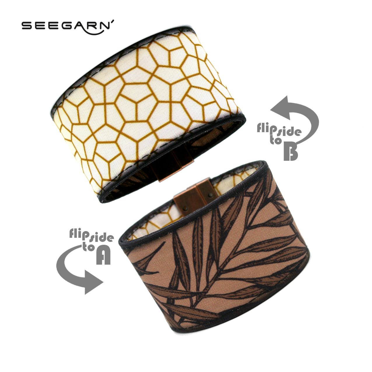 Seegarn Wende-Armband (Design MB35 & MB03)