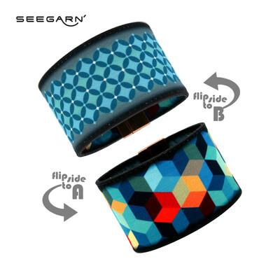 Seegarn Wende-Armband (Design MB28 & MB21)