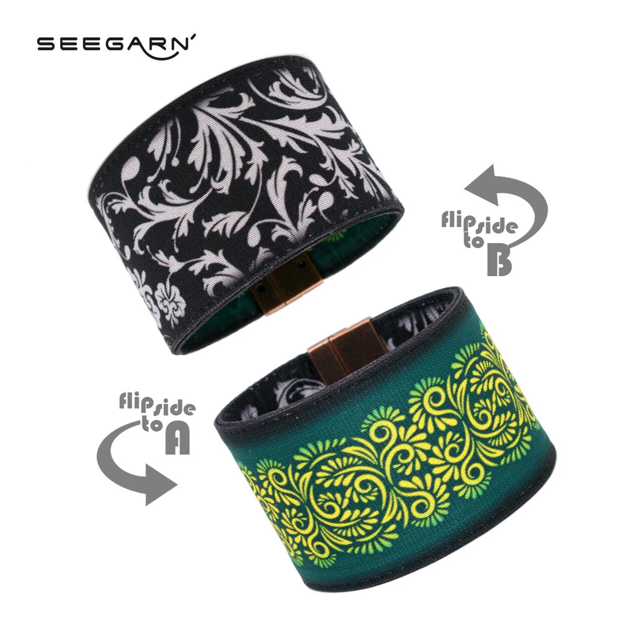 Seegarn Wende-Armband (Design MB23 & MB25)