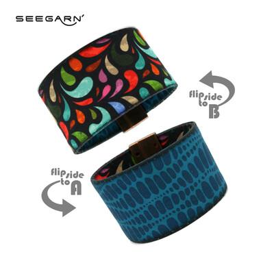 Seegarn Wende-Armband (Design MB16 & MB06)
