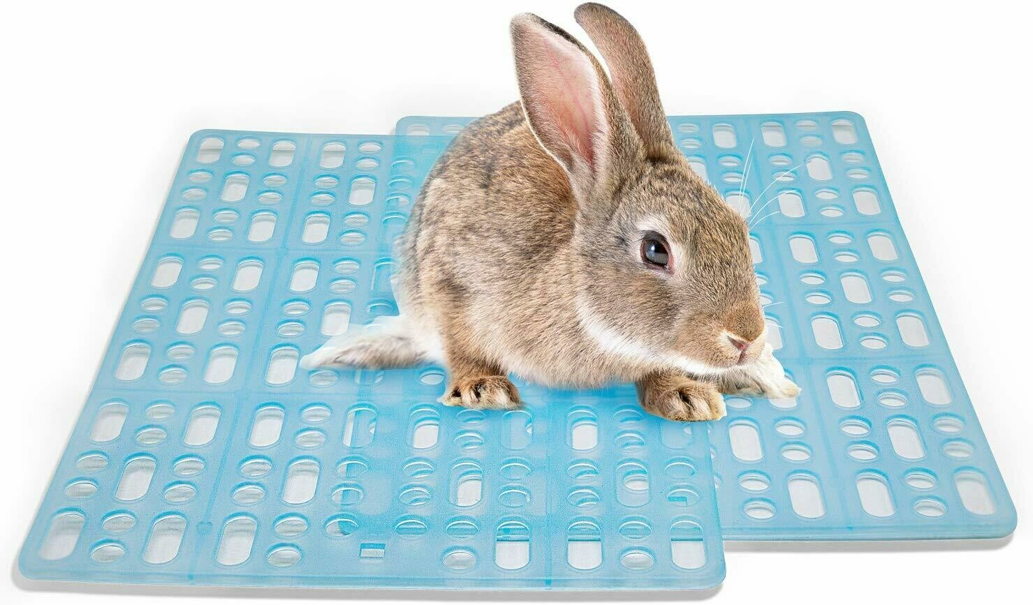 Rabbit Playpen Feet Mats for Cage Comes with 2 Fixed Tabs
