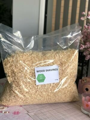 Wood shaving 1.5kg bedding