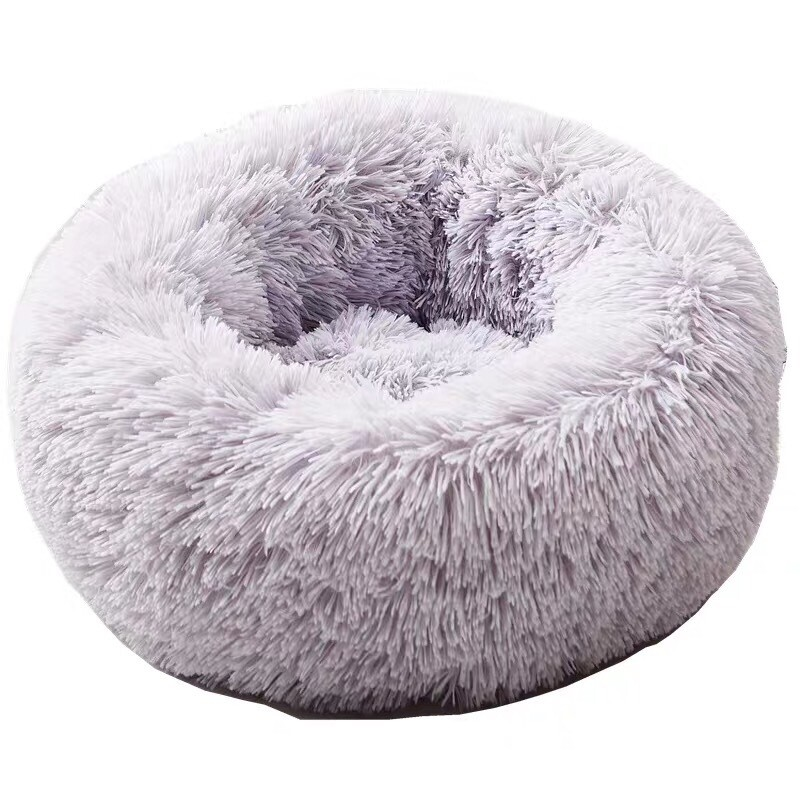 Soft And Fluffy Calming Pet Bed (two colour)