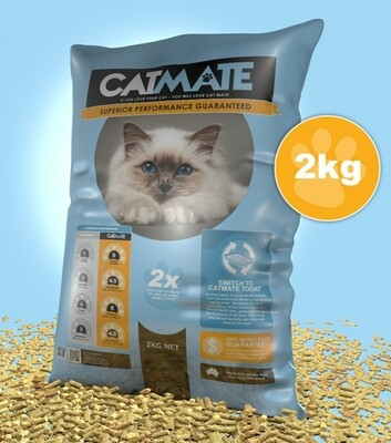 Catmate Wood Bedding Pellets 2kg