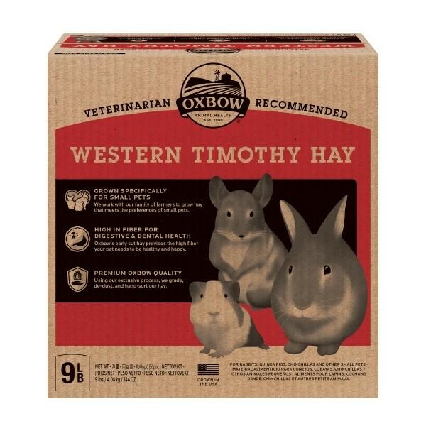 Oxbow Western Timothy Hay 4kg