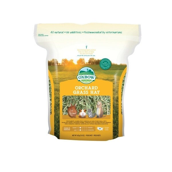 Oxbow Orchard Grass Hay 425g