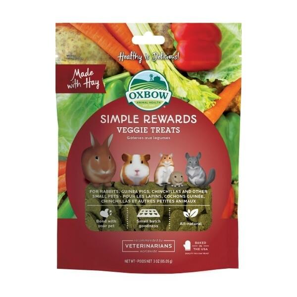 Oxbow Simple Rewards Veggie Treats 85g