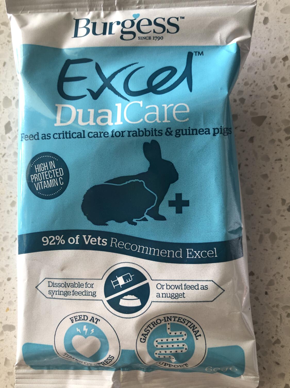 Burgess Dual Care Recovery formula for rabbit and guinea pig - Single Sachet 60g
