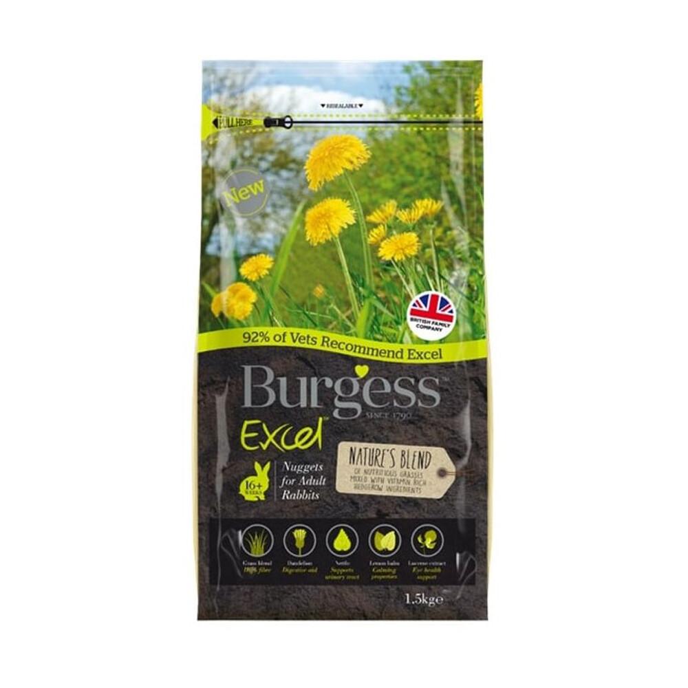 Burgess Excel Nature's Blend Rabbit Nuggets