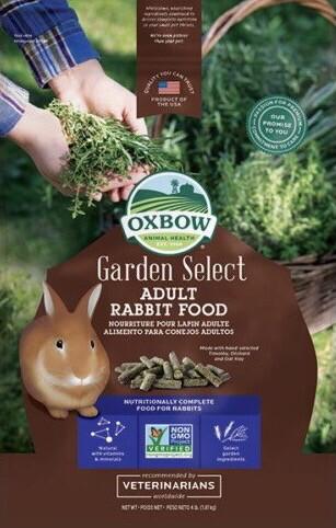 Oxbow Garden Select Adult Rabbit Pellets 1.81kg