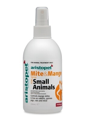 Aristopet Mite and Mange Spray