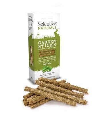 Selective Naturals Garden Sticks 60g