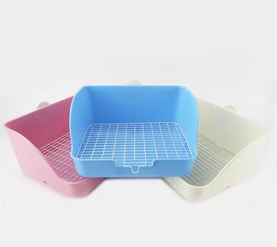 Medium Size Square Shape Pet Toilet for Small Animal 28cm L*23cm W*15cm H