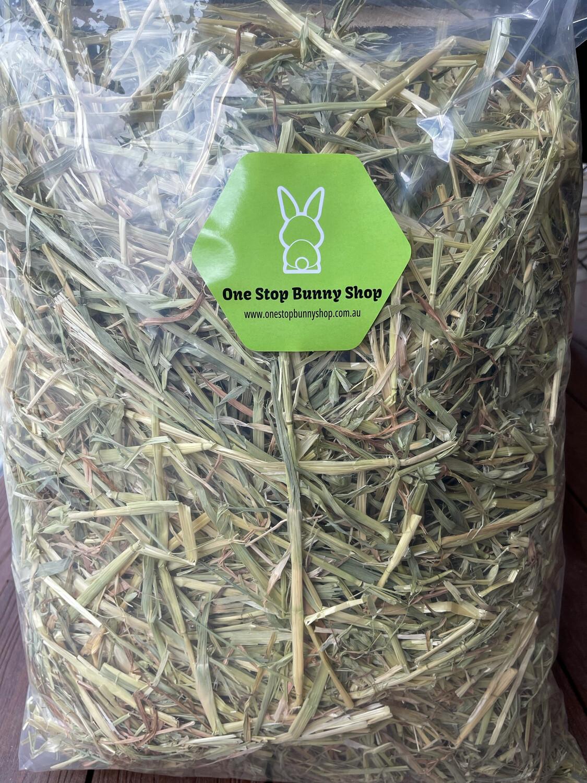 New Batch Oaten Hay 2kg (Re-Sealable bag)
