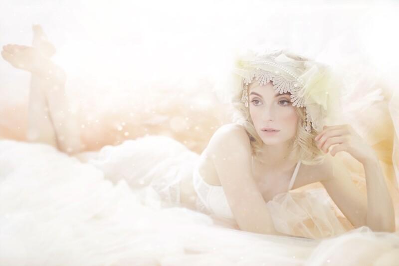 Romantic Boudoir Gift Voucher with Portrait