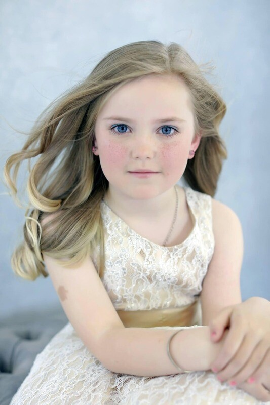 Teen Fashion Makeover Voucher with portrait and £100 credit