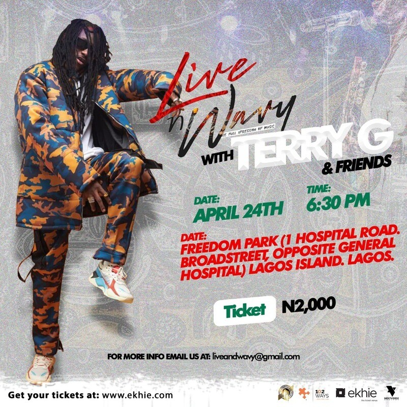 Live and Wavy with Terry G and friends