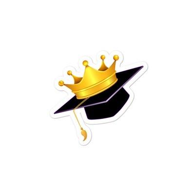 Cap & Crown Sticker