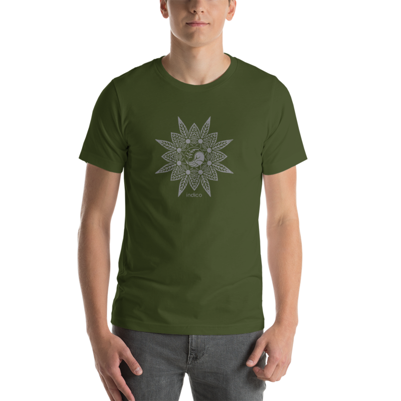 indico Leaf T-Shirt