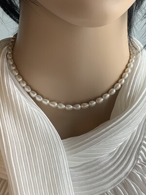 AAA White Pearl Necklace