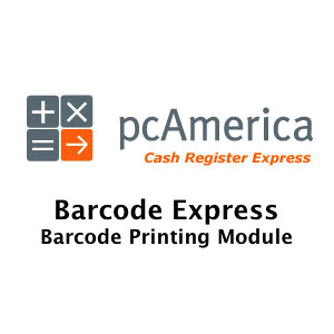 pcAmerica Barcode Express Software