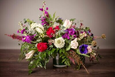 Valentine's Vased Arrangement