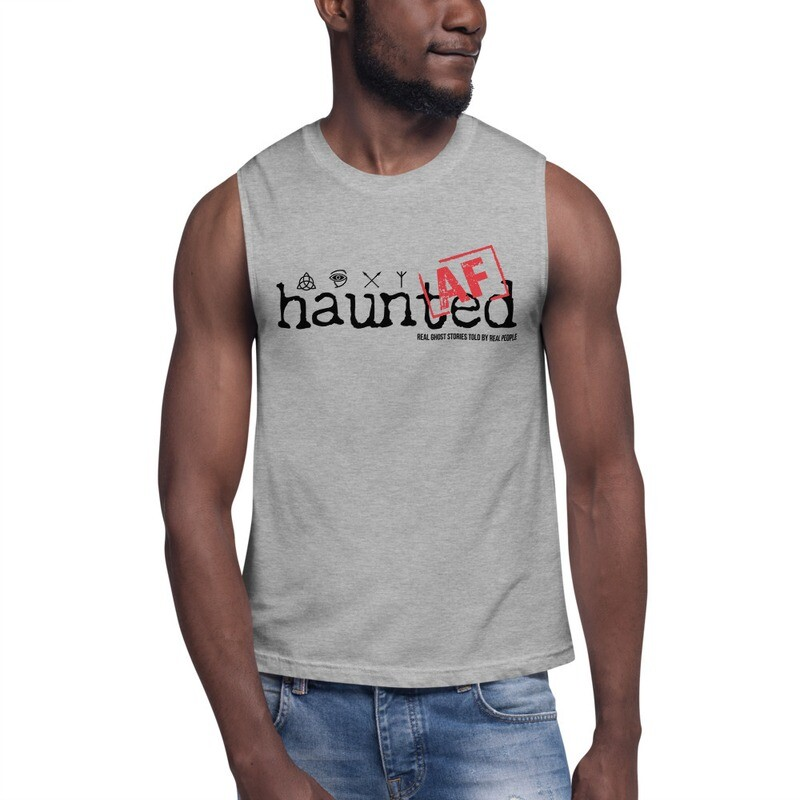Haunted AF Muscle Shirt